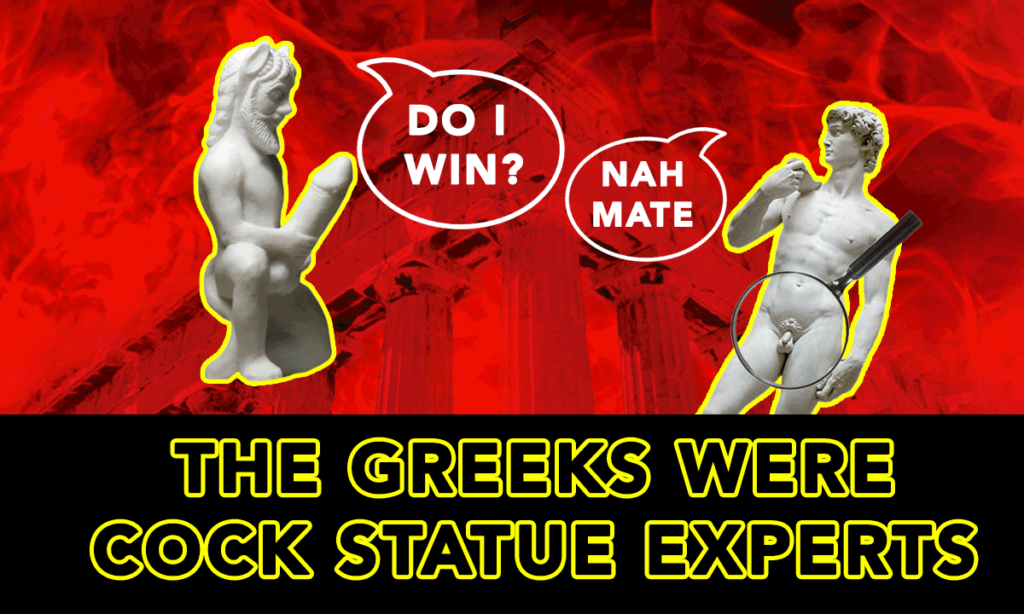Greek Statue Penis Sizes