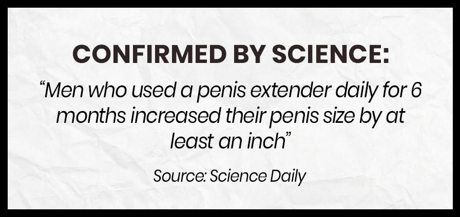 Penis Extender Science